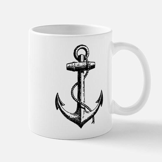 Vintage Anchor Mug