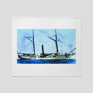 Sea Voyage Throw Blanket