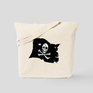 Pirate Flag Tattoo Tote Bag
