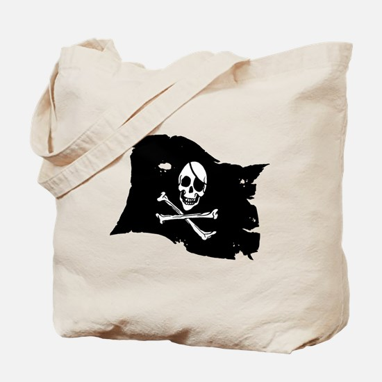 Pirate Flag Tattoo Tote Bag
