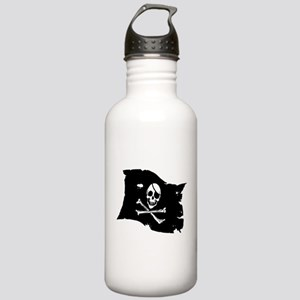 Pirate Flag Tattoo Stainless Water Bottle 1.0L