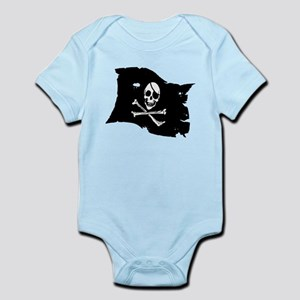 Pirate Flag Tattoo Infant Bodysuit