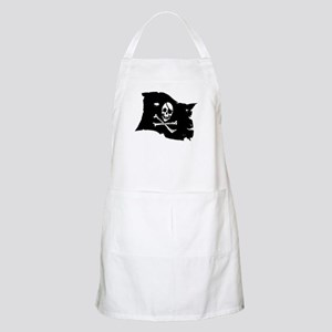 Pirate Flag Tattoo Apron