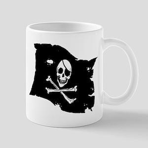 Pirate Flag Tattoo Mug