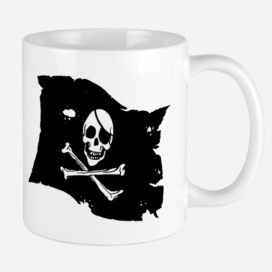 Pirate Flag Tattoo Mug