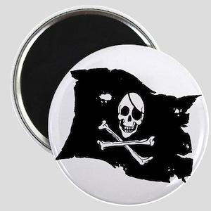 Pirate Flag Tattoo Magnet