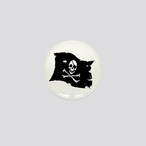 Pirate Flag Tattoo Mini Button