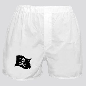 Pirate Flag Tattoo Boxer Shorts