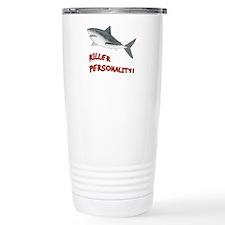 Shark - Personality Stainless Steel Travel Mug