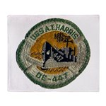 USS ALBERT T. HARRIS Throw Blanket