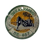 USS ALBERT T. HARRIS Ornament (Round)