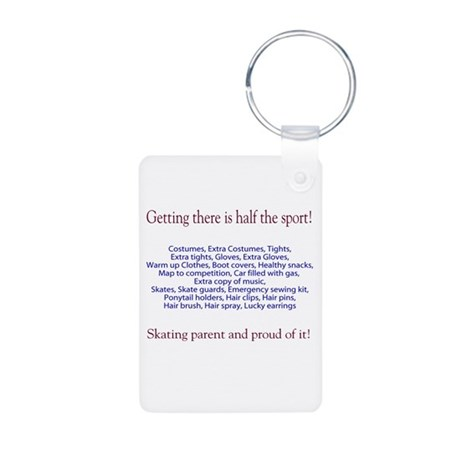 For the parents Aluminum Photo Keychain