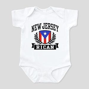 New Jersey Rican Infant Bodysuit