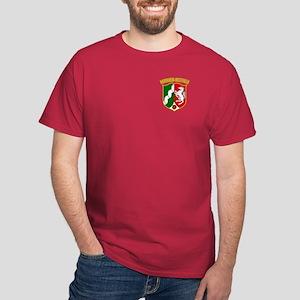 Nordrhein-Westfalen COA Dark T-Shirt