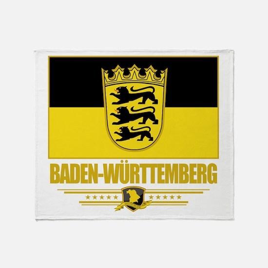 Baden-Wurttemberg Pride Throw Blanket