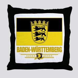 Baden-Wurttemberg Pride Throw Pillow