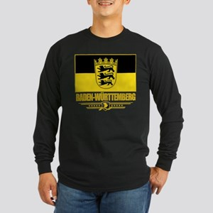 Baden-Wurttemberg Pride Long Sleeve Dark T-Shirt