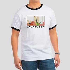 Lava Floor - Ringer T