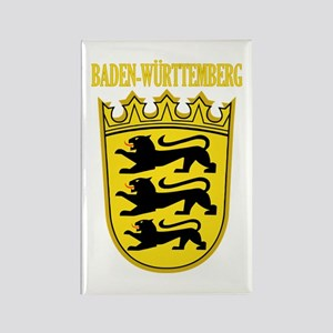 Baden-Wurttemberg COA Rectangle Magnet