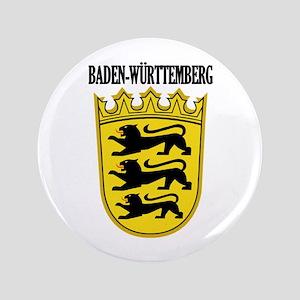 "Baden-Wurttemberg COA 3.5"" Button"