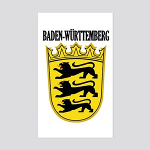 Baden-Wurttemberg COA Sticker (Rectangle)