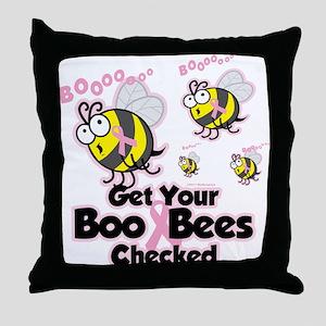 Boo Bees Throw Pillow