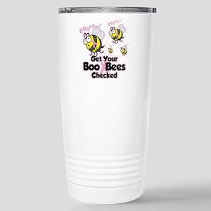 Boo Bees Stainless Steel Travel Mug