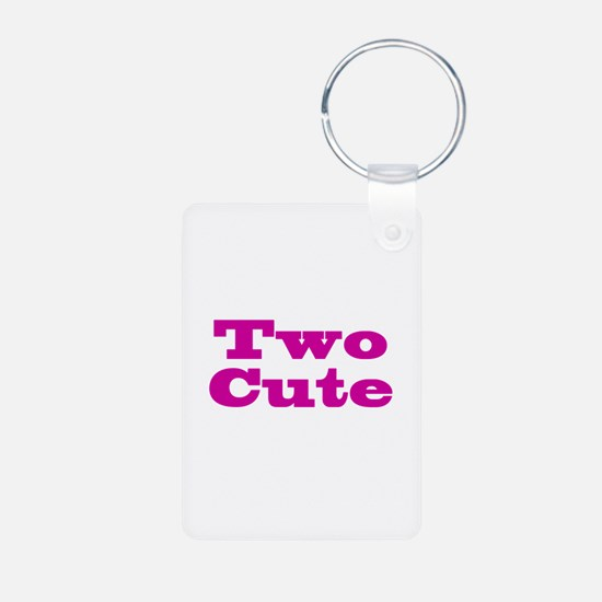 Two Cute Twins Keychains
