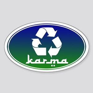 Recycle KARMA Sticker