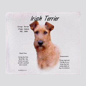 Irish Terrier Throw Blanket