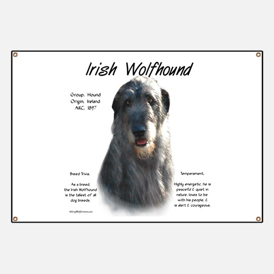 Irish Wolfhound (grey) Banner