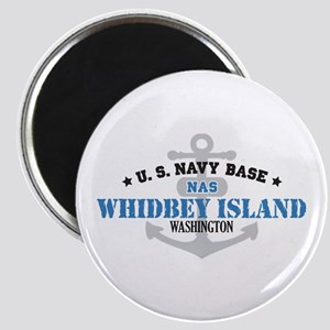 US Navy Whidbey Island Base Magnet