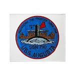 USS AUGUSTA Throw Blanket