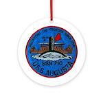 USS AUGUSTA Ornament (Round)