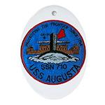 USS AUGUSTA Ornament (Oval)