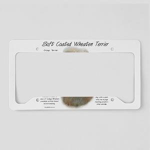 Soft Coated Wheaten Terrier License Plate Holder
