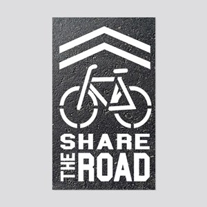 Share the Road (Blacktop Background)