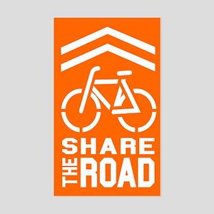 Share the Road Sticker (Orange)