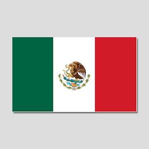 Flag of Mexico Car Magnet 20 x 12