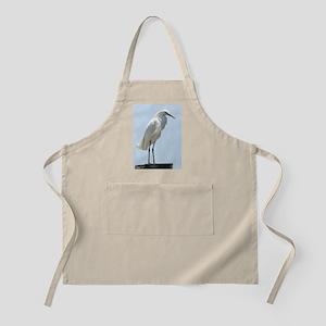 Great White Egret Apron