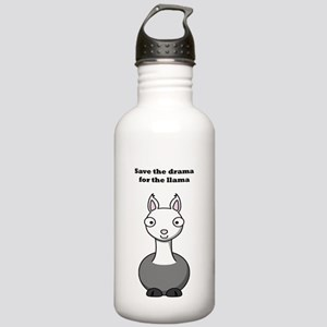 save the drama for the llama Stainless Water Bottl