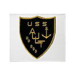 USS AULT Throw Blanket