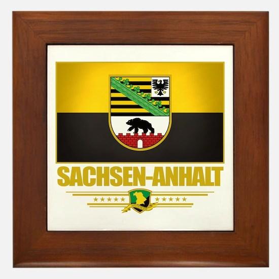 Sachsen-Anhalt Framed Tile