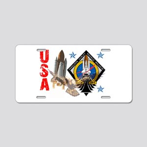 Atlantis STS 135 Aluminum License Plate