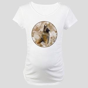 Belgian Terv In The Garden Maternity T-Shirt