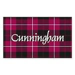 Tartan - Cunningham Sticker (Rectangle 10 pk)