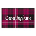 Tartan - Cunningham Sticker (Rectangle 50 pk)