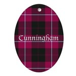 Tartan - Cunningham Ornament (Oval)