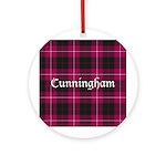 Tartan - Cunningham Ornament (Round)