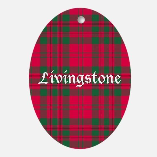Tartan - Livingstone Ornament (Oval)